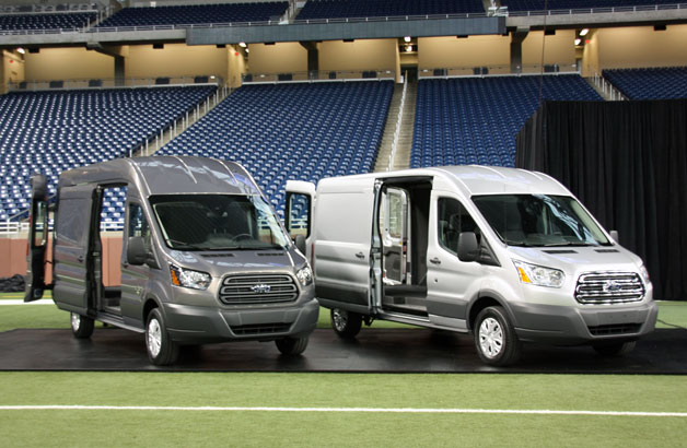 Would you like your Ford Transit in Large, XL or XXL?