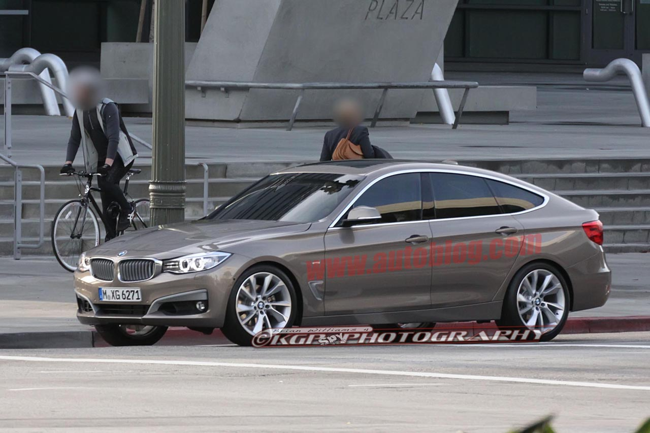 Certified Pre Owned Bmw >> BMW 3 Series GT caught uncovered filming commercial - Autoblog