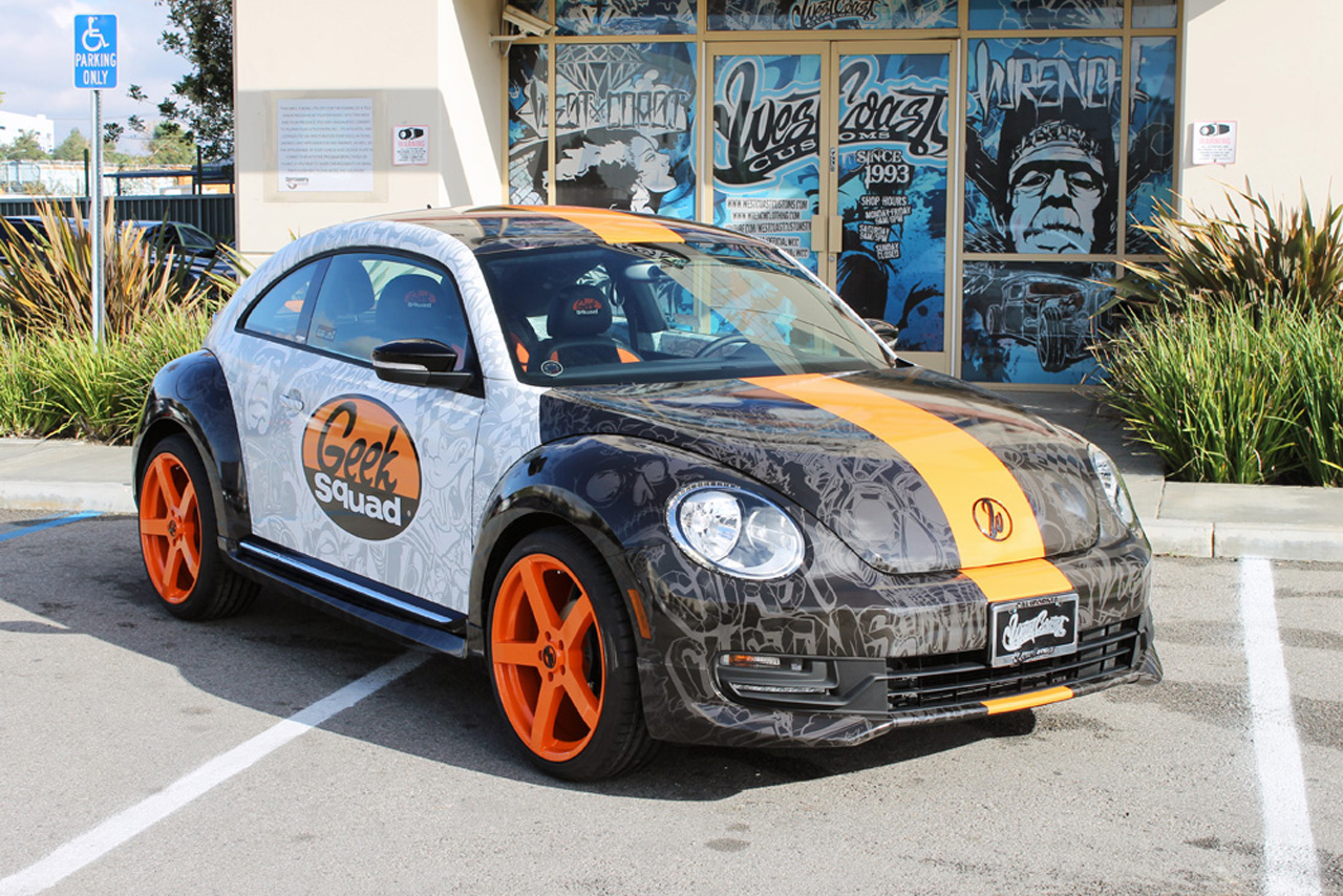Geek Squad S Famous Beetle Gets Updated Courtesy Of West