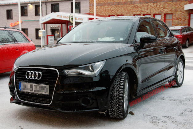 Audi S1 Spy Shots