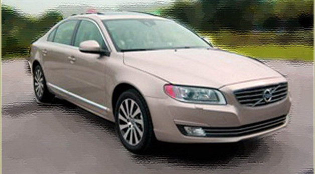 Volvo S80 nip/tuck speckled in China