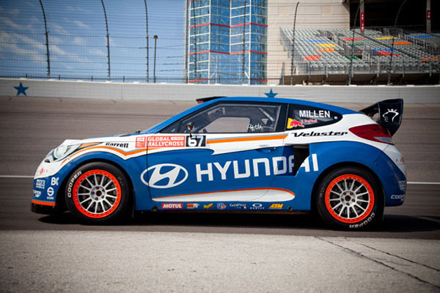 2011 Hyundai Veloster Global RallyCross