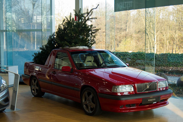 Volvo 850 T5 R pickup acclimatisation is ready for the cold yule