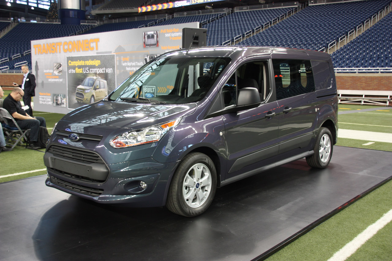 2014 ford transit connect van live photo gallery autoblog. Black Bedroom Furniture Sets. Home Design Ideas