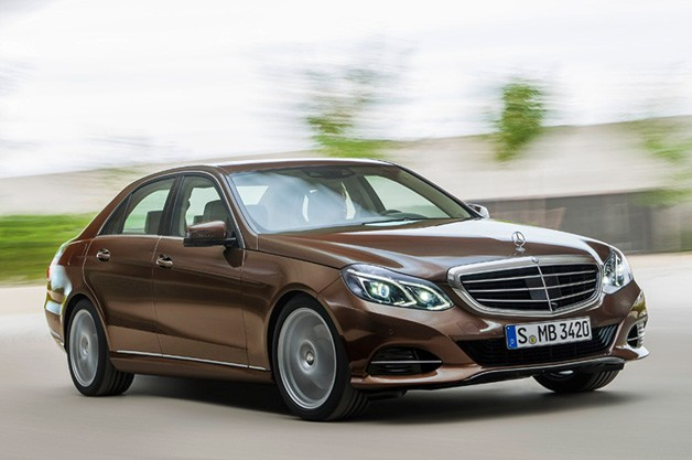 2014 Mercedes-Benz E-Class refreshed down to its sheetmetal