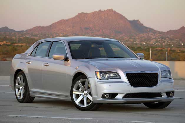 2012 Chrysler 300 SRT8 - front three-quarter view