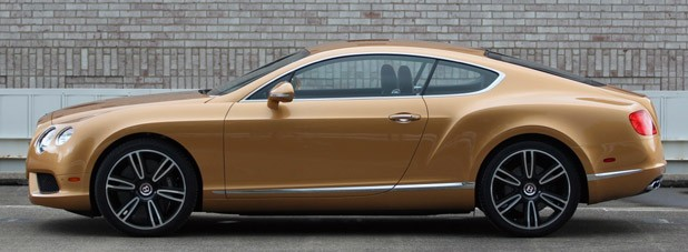 2013 Bentley Continental GT V8 side view