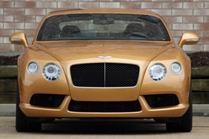 2013 Bentley Continental GT V8 front view