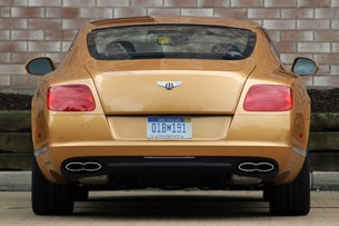 2013 Bentley Continental GT V8 rear view
