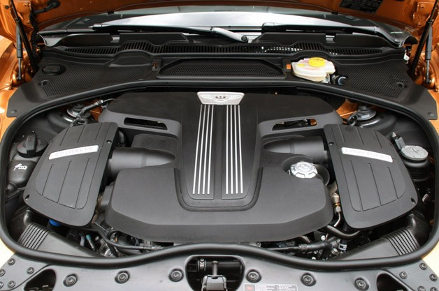 2013 Bentley Continental GT V8 engine