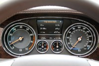 2013 Bentley Continental GT V8 gauges