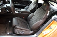 2013 Bentley Continental GT V8 front seats