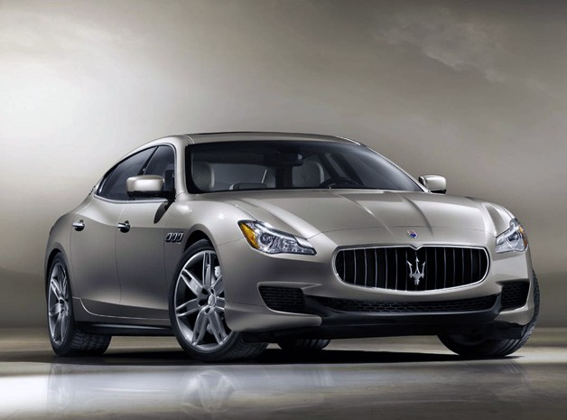 2013 Maserati Quattroporte - front three-quarter view