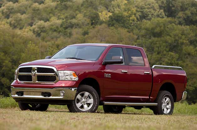 2013 Dodge Ram - front three-quarter view
