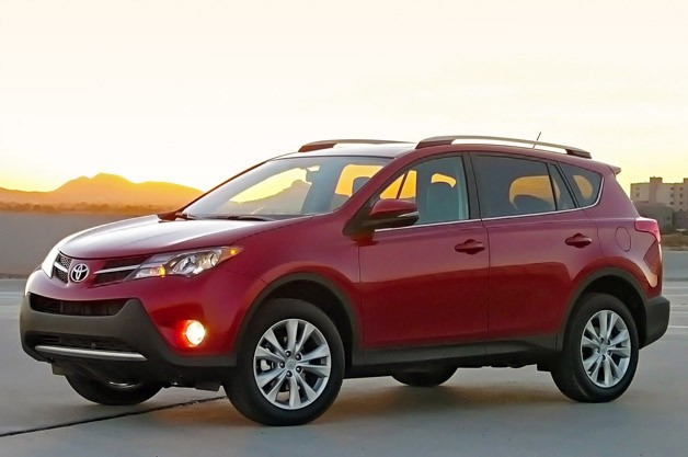 2013 Toyota RAV4 - front three-quarter view