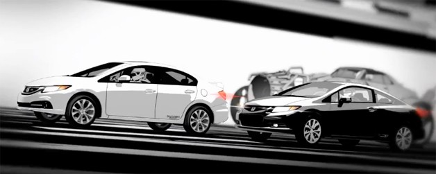 Honda starts 2013 Civic Si selling by removing animated
