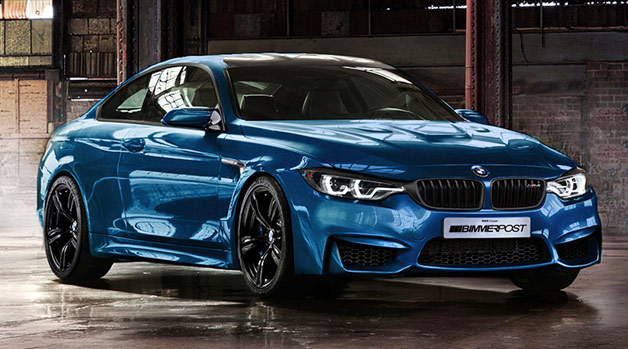 The 2014 BMW M4 might look this good