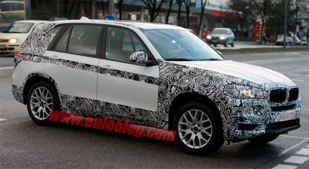 2014 BMW X5 disguised prototype - front three-quarter view