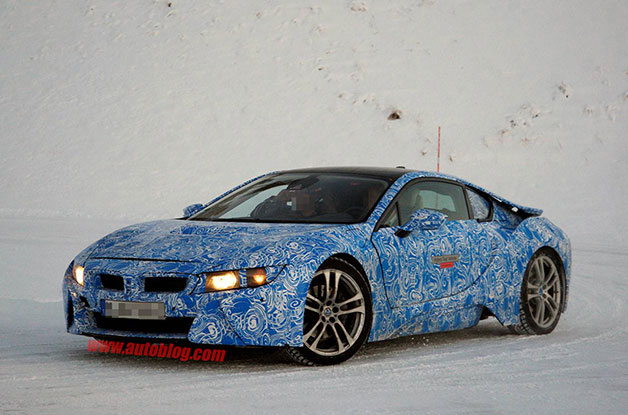BMW i8 prototype gives us clearest view yet of its form