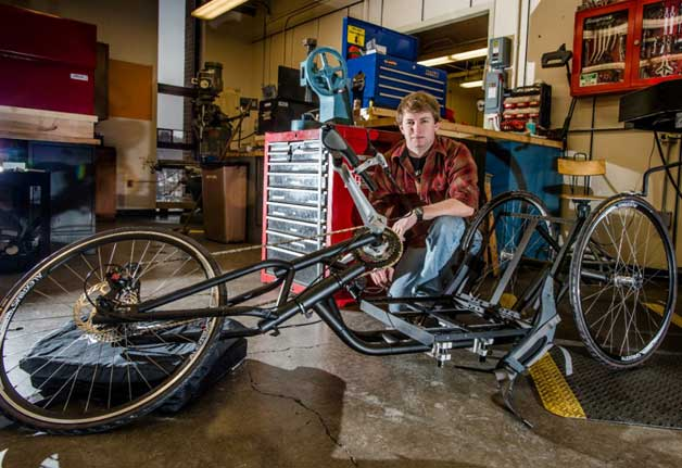 Hand cycle built by GM