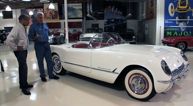 GM's Ed Welburn brings vintage Corvettes by Jay Leno's Garage