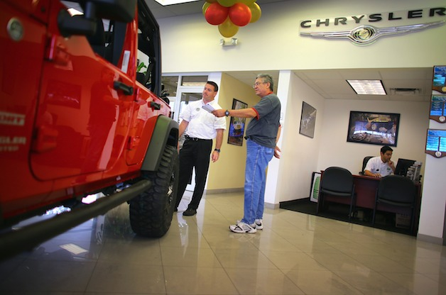 buying new jeep wrangler