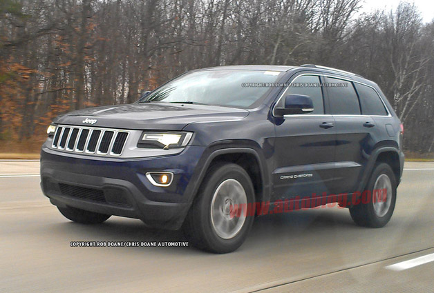 Jeep Grand Cherokee spy shots