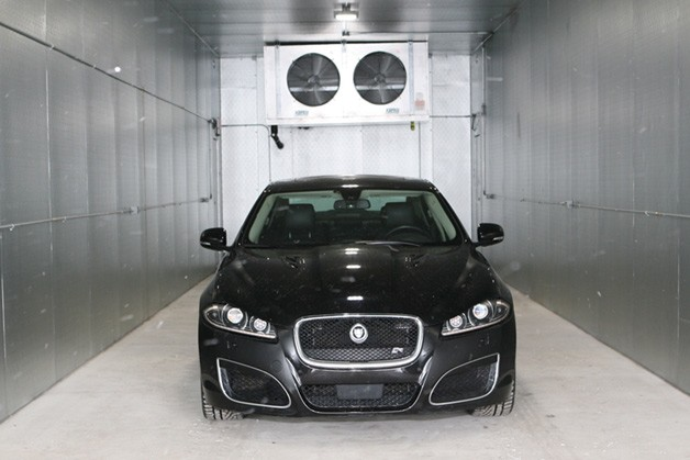 Jaguar Land Rover Open Winter Testing Facility in Minnesota