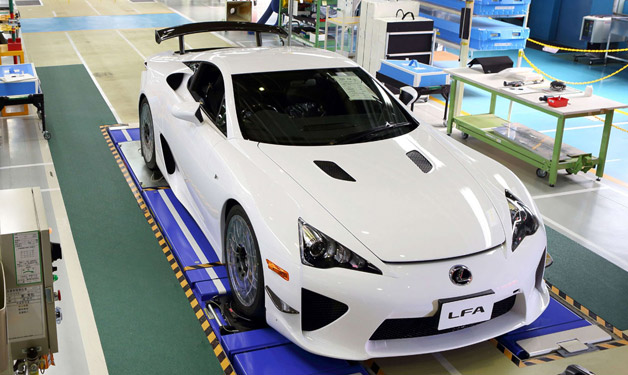 The Last Lexus LFA