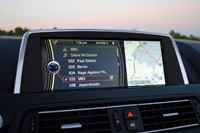 2012 BMW M6 Convertible infotainment system