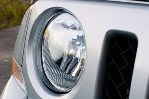 2012 Jeep Patriot headlight