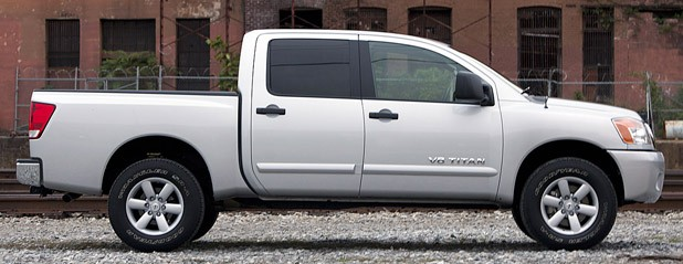 2012 Nissan Titan side view