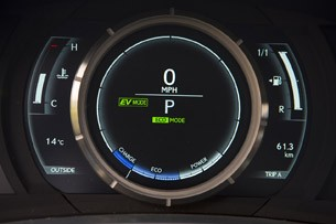 2014 Lexus IS Prototype gauges