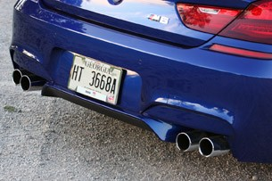 2012 BMW M6 Convertible rear bumper
