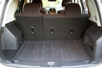 2012 Jeep Patriot rear cargo area