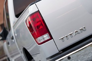 2012 Nissan Titan taillight