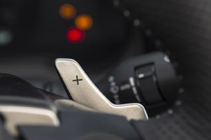 2014 Lexus IS Prototype paddle shifter