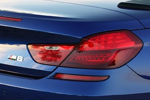 2012 BMW M6 Convertible taillight