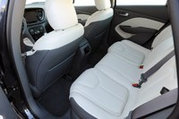 2013 Dodge Dart rear seats