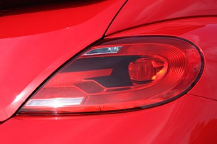 2013 Volkswagen Beetle TDI Convertible taillights