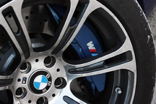 2012 BMW M6 Convertible wheel detail