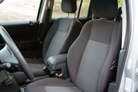 2012 Jeep Patriot front seats
