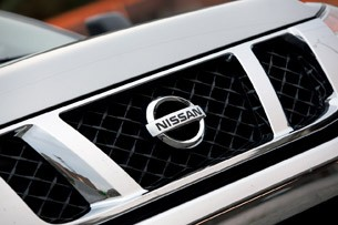 2012 Nissan Titan grille