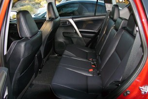 2013 Toyota RAV4 rear seats