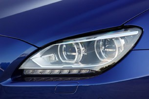 2012 BMW M6 Convertible headlight