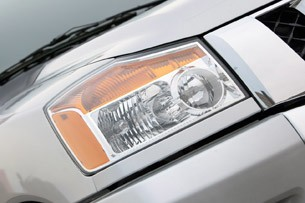 2012 Nissan Titan headlight