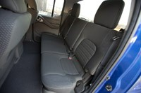2012 Nissan Frontier Crew Cab 4x4 rear seats