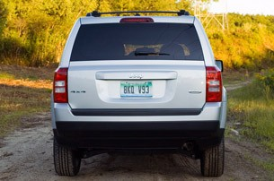 2012 Jeep Patriot rear view