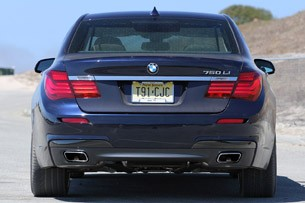 2013 BMW 750Li rear view