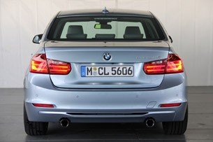 2013 BMW ActiveHybrid 3 rear view